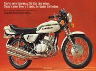 1972 Kawasaki S1 Sales Brochure