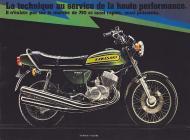 1974 Kawasaki H2 Advert
