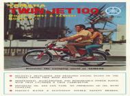 Yamaha Twin Jet 100 YL-1 Sales Brochure