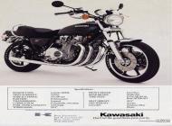 Kawasaki KZ1000 LTD Sales Brochure