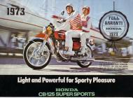 1973 Honda CB125 Swedish Advert