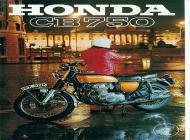1971 Honda CB750 K1 Advert