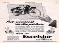 1952 Excelsior Autobyk Advert