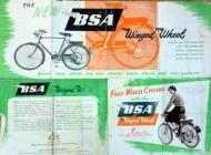 BSA Winged Wheel Advert