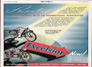 Excelsior Motorcycle Advert