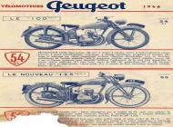 1948 Peugeot Motorcycle Advert