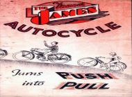 James Autocycle Advert