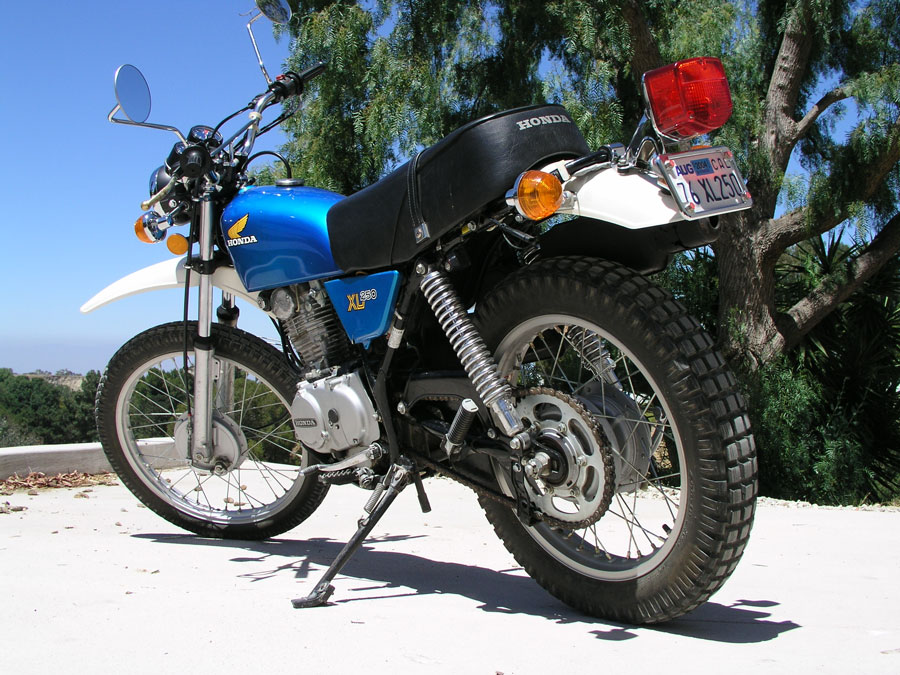 honda xl250 gallery classic motorbikes. Black Bedroom Furniture Sets. Home Design Ideas