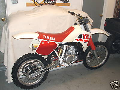 Yamaha YZ250 Classic Bike Gallery   Classic Motorbikes  Yamaha YZ250 Cl...