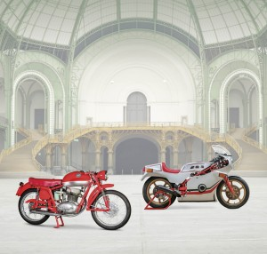 1954 MV Agusta Disco Volante and a 1980 Bomota SB2