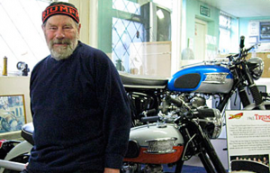 Bill Crosby of the closure-threatened London Motorcycle Museum