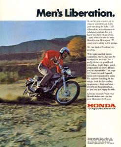 Original Honda SL125 Advert