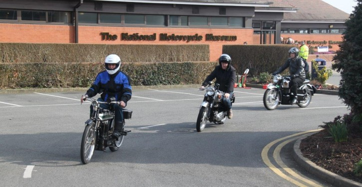 Museum Friends Ride A Classic Day-New Comet, RGS & Venom