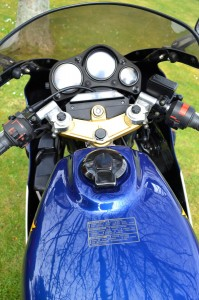 Honda NS400R Dashboard