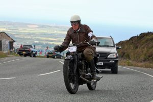 100th anniversary of the first IOM TT involving the mountain circuit saw Rob take to the course in 2011