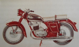 Attractive but functional the 1961 Balkan C2 250cc single cylinder two stroke. Image Patrick Nedobeck