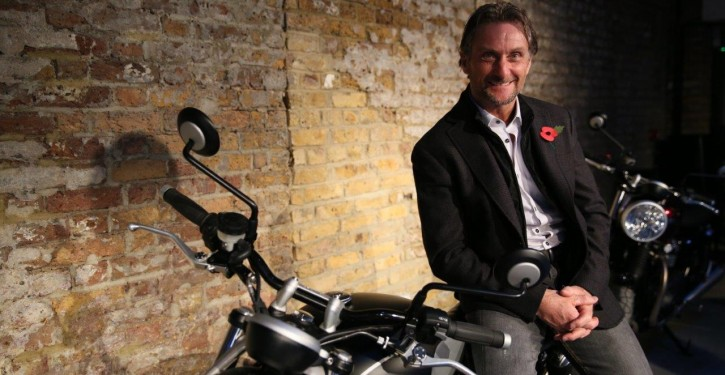 Foggy returns to the Festival of Speed with Triumph & The National Motorcycle Museum