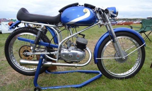 Rare and beautiful a 50cc race ready machine from Maserati this one from 1959