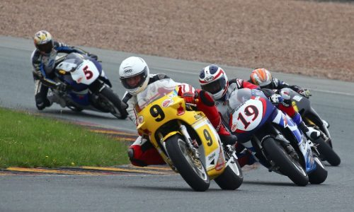 The star-studded World GP Bike Legends and their 500cc bikes wowed the crowds at the Sachsenring Classic in Germany