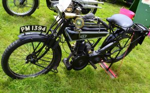 1925 Popular Levis 211cc two stroke, three speed with gas lights
