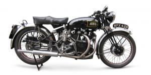 1948 Vincent-HRD 998cc Series-B/C Black Shadow