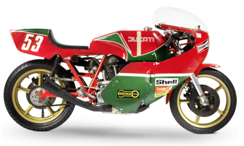 The ex-works, NCR, Sports Motor Cycles, Roger Nicholls, Isle of Man TT Formula 1, 1977 Ducati 905cc Production Racing Motorcycle