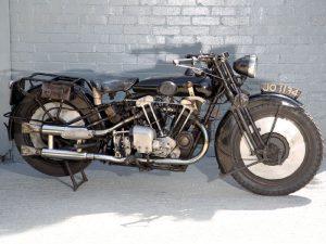 1930 Brough Superior 680 Black Alpine