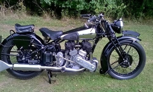 1939 Brough Superior SS80