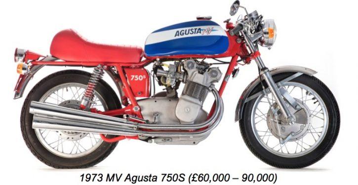 1973 MV Agusta 750S