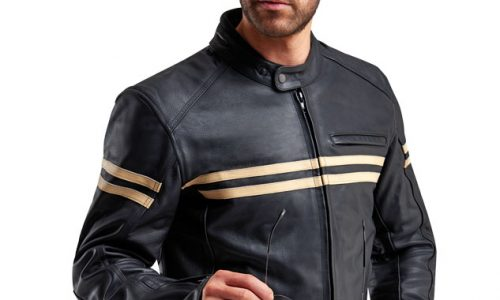 The Weise Brunel leather jacket