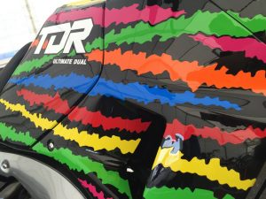 Yamaha TDR250 paintwork