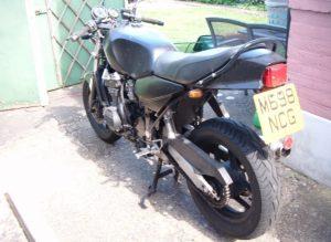 Kawasaki GPX600 RD350LC Hybrid