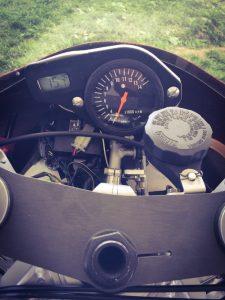 RGV500 Cockpit