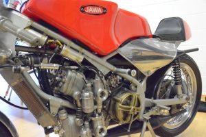 Sammy Miller's ex works Jawa 350cc four-cylinder type 675 from 1969