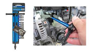 Alldrive ratchet T-handle socket set from Laser Tools