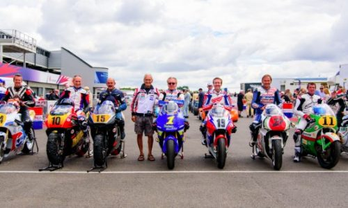 Silverstone Classic Bike Line-up