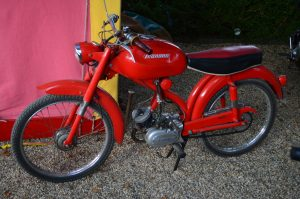 The Legnano Sachs Sport 50 was the moped of choice for the fashion conscious Milanese of the early 60s