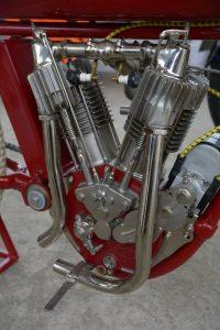 Indian Board Track racer engine