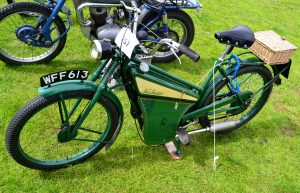 New Hudson Autocycle 151 98cc Villiers powered cost £49.00 in 1948