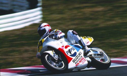 Kevin Schwantz's 1989 Pepsi Suzuki RGV500
