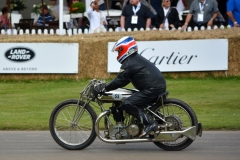 The Grindlay-Peerless JAP made in Coventry in 1928, the first bike to achieve 100mph in the UK at Brooklands