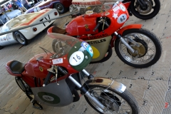 Bultaco TS250 and 360cc two stroke singles of the type a young Barry Sheene learnt his craft