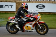 The 494cc XR14 Suzuki gave Barry Sheene race wins and then Championships, this the 1976 version