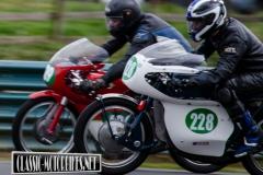 Charles Davis - 1966 Ducati Monza 250 & Roger Farris - 1965 Greaves Silverstone 250
