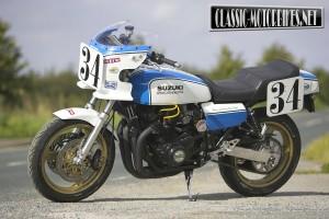 Street special Suzuki GS1000 Wes Cooley replica