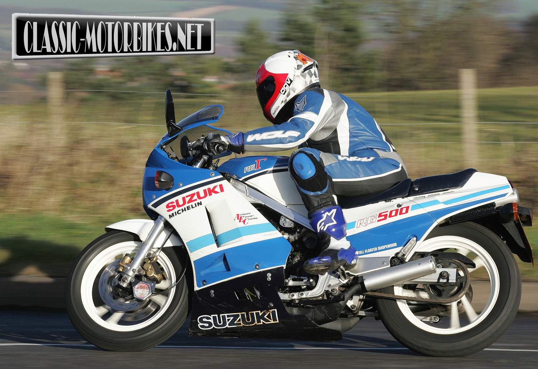 Suzuki RG500 Gamma Road Test - Classic Motorbikes
