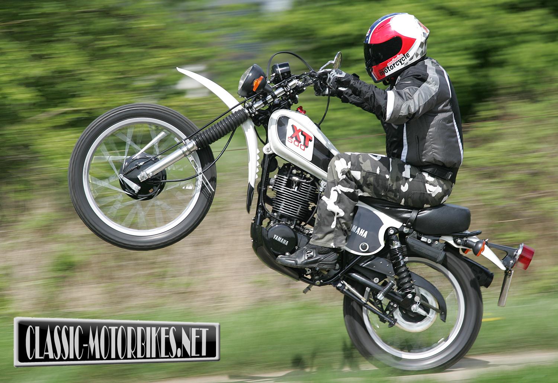 Yamaha xt500 specs