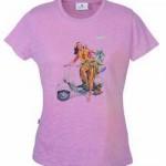 Vespa T-shirt celebrates Girl Power 1950's Style