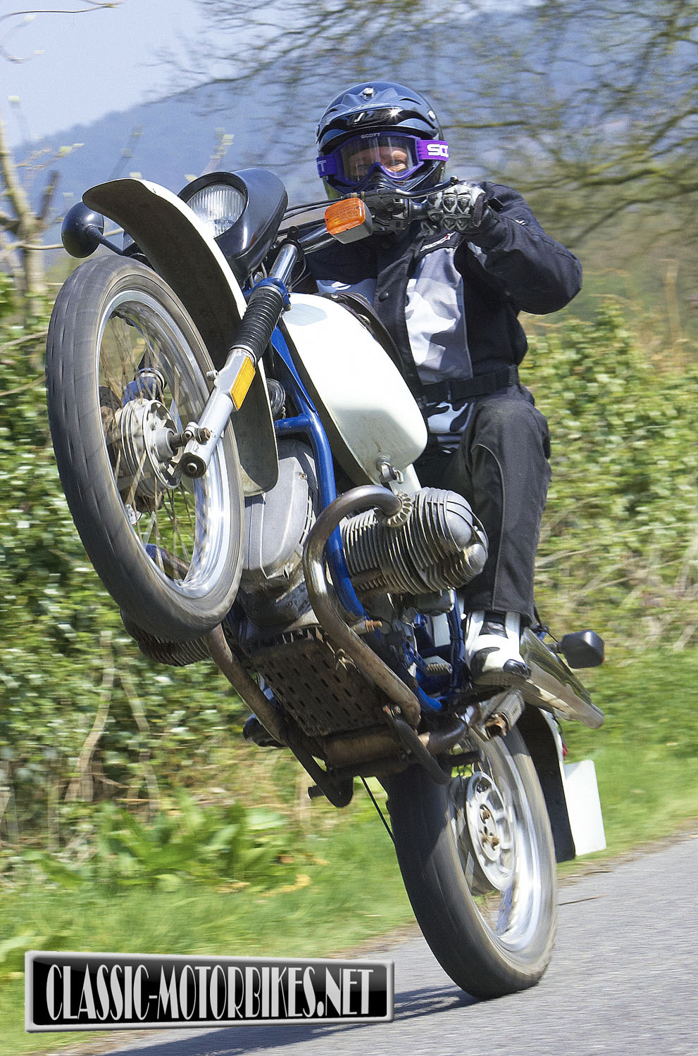Open Road Bmw >> BMW R80G/S Road Test - Classic Motorbikes