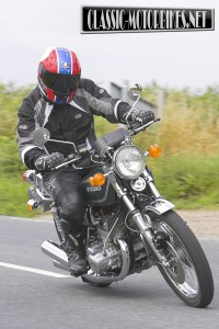 Suzuki GT550 Road Test